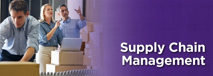 Supply Chain Management web banner image