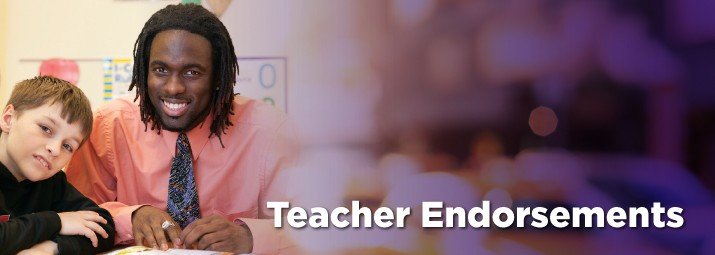 Banner image for Teacher Endoresments at Ashland University.