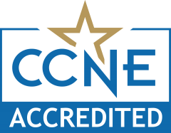 The Dwight Schar College of Nursing is accredited by the Commission on Collegiate Nursing Education (CCNE)