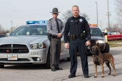 Police, sheriff and K9