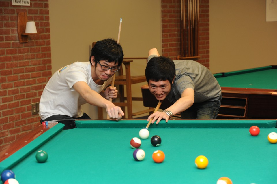 Ashland University Rec Center Billiards
