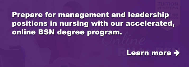 Prepare for management and leadership positions in nursing.