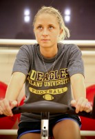 Rec - Student on Exercise Bike