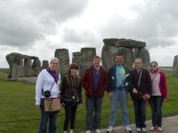 Honors Program Students Visit Stonehenge
