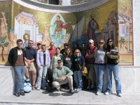 AU Students in Greece 2008