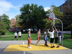 Kilhefner Basketball Court