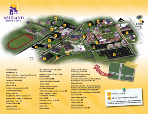Full Color Campus Map