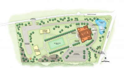 Final Site Plan - CON Rendering