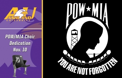 Ashland University to Designate Stadium Seat to Honor POW/MIA