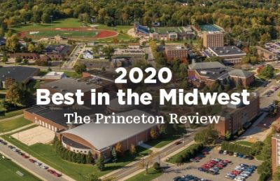 Ashland University Named to The Princeton Review's 'Best in the Midwest'