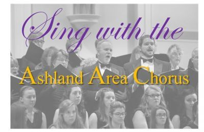 Ashland Area Chorus Rehearsals Begin Aug. 26