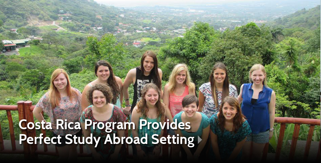 'AU in Costa Rica' Program Provides Perfect Study Abroad Setting