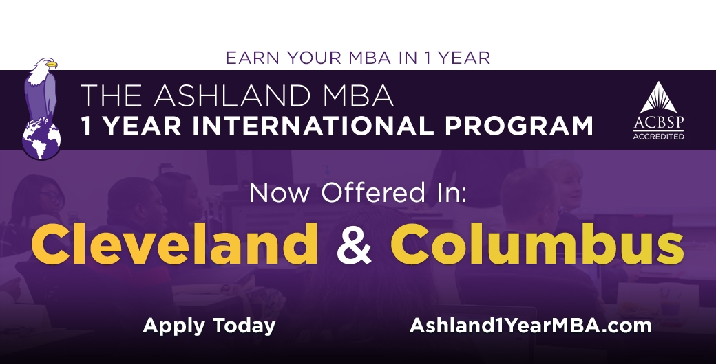 Ashland University 1-Year MBA Program
