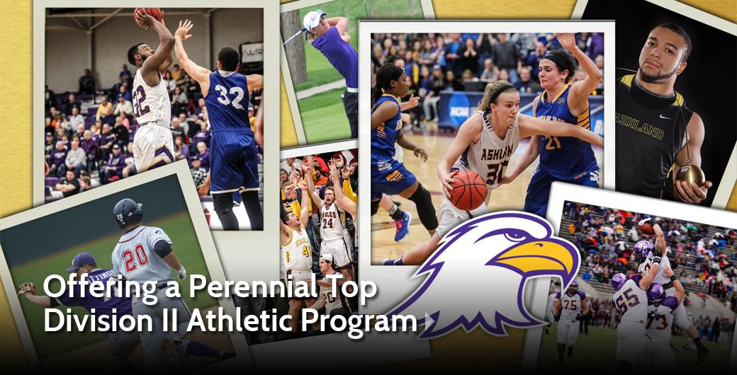 Offering a Perennial Top  Division II Athletic Program