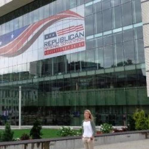 Ashland University Student Involved in Preparation for Republican National Convention