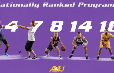 AU Boasts Top 25-Ranked Teams in Five Sports