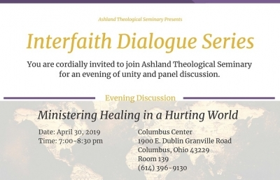 Ashland Seminary to Hold Interfaith Dialogue Series in Columbus