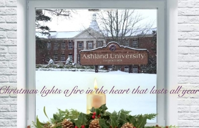 Ashland University Posts 2018 Electronic Christmas Card