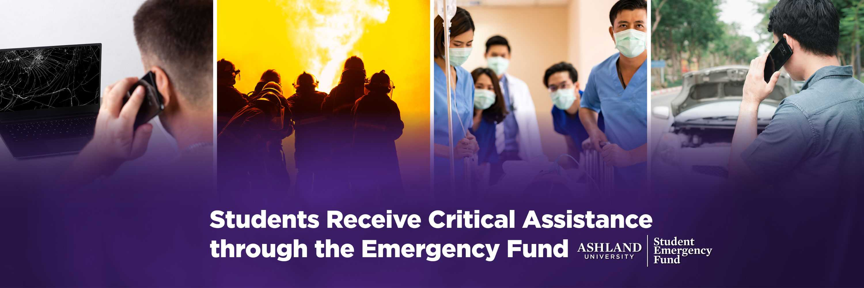 Students receive critical assistance through the Emergency Fund