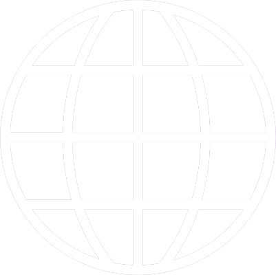 Icon of a wireframe globe