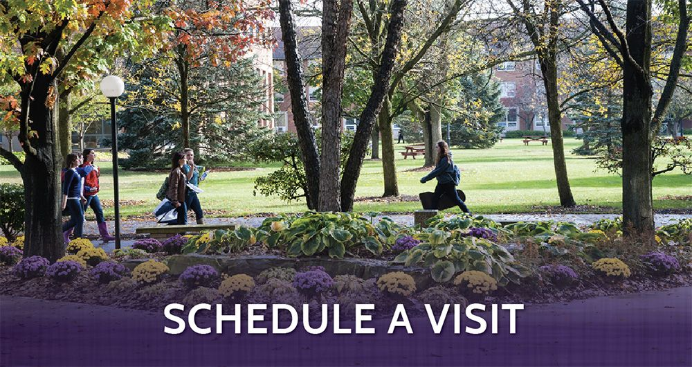 Schedule a campus visit to Ashland University