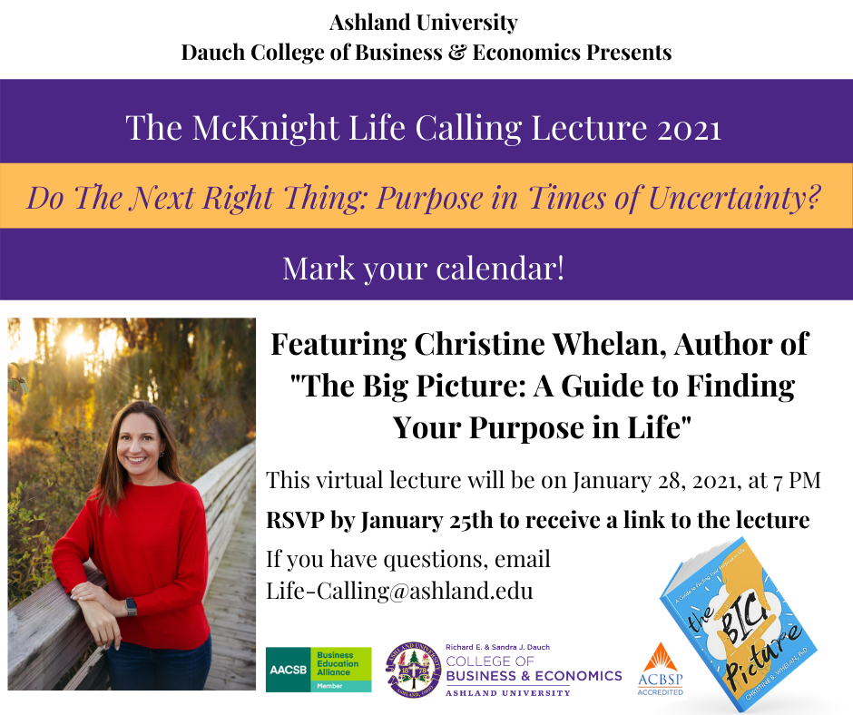 The McKnight Life Calling Lecture 2021