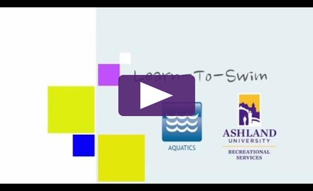 Ashland University Learn to Swim Program