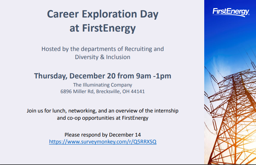 Career Exploration Day at FirstEnergy