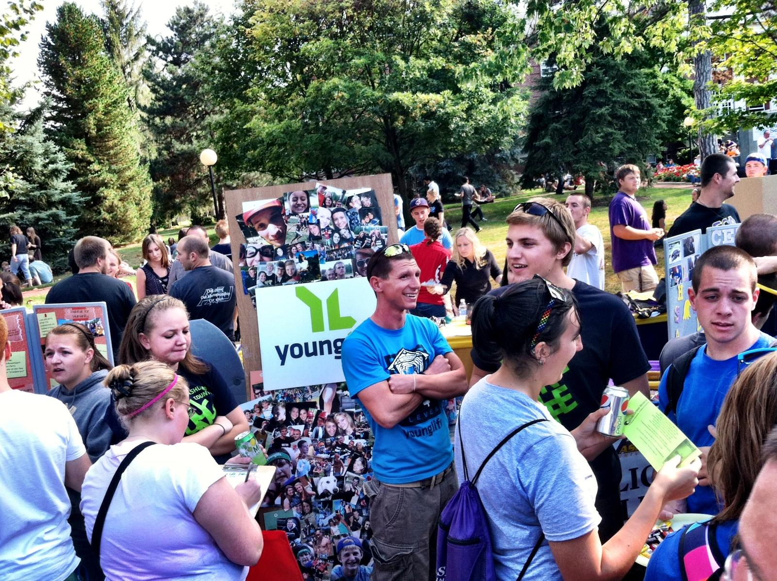 Young Life Mass Gathering