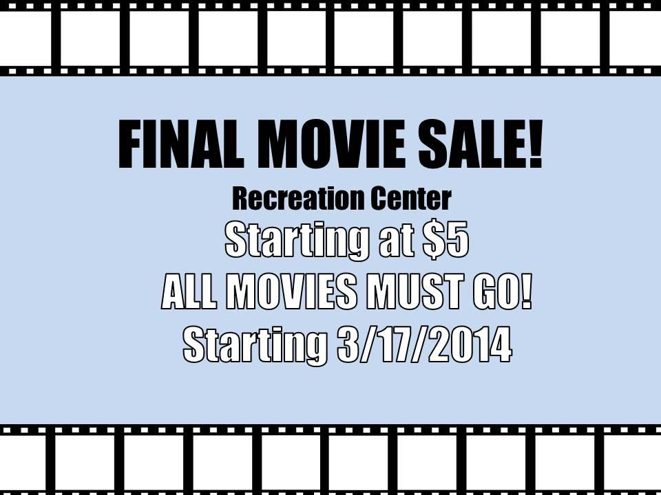 Movie Sale