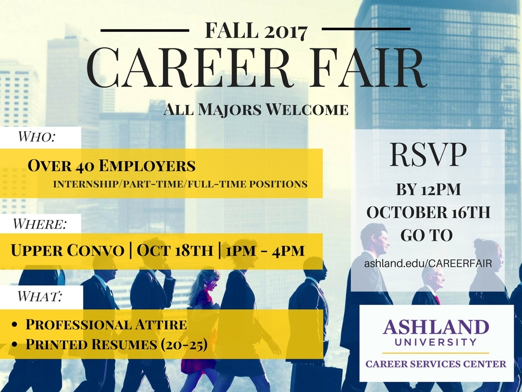 Career Fair Information