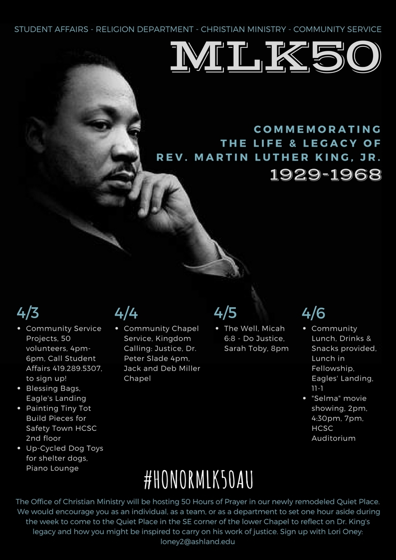 MLK50 Commemorating the Life & Legacy
