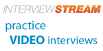 InterviewStream Practice Video Interviews