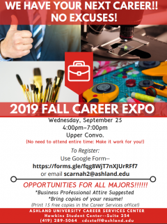 Career Expo Flyer