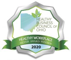 Healthy Business Council of Ohio - Healthy Workplace Silver Award Winner