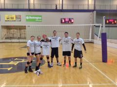 Champion Volleyball Team