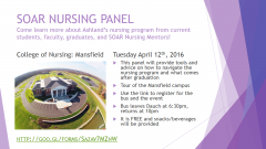 Nursing Panel Information