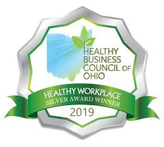 Healthy Business Council of Ohio Silver Award Winner