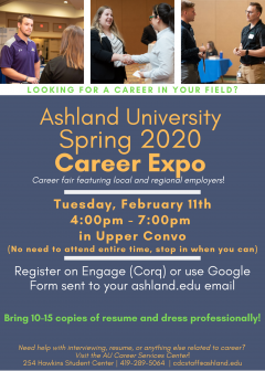 Spring Career Expo 2020