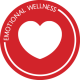 Emotional Wellness - heart logo