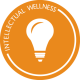 Intellectual Wellness - lightbulb logo